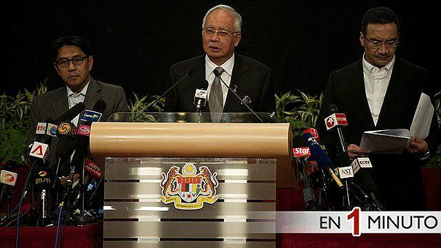 Najib Razak, primer ministro de Malasia
