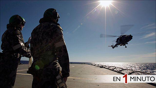 Operaciones de búsqueda del avión desaparecido