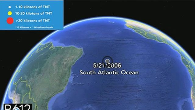 Um dos impactos mais próximos do Brasil aconteceu em maio de 2006 (BBC)