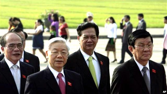 'Tứ trụ' lãnh đạo của Việt Nam
