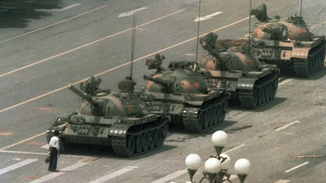 Eventos de Tiananmen, en 1989