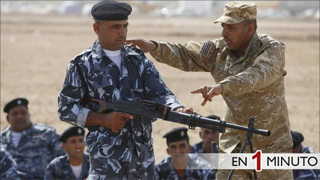 Voluntarios en Irak