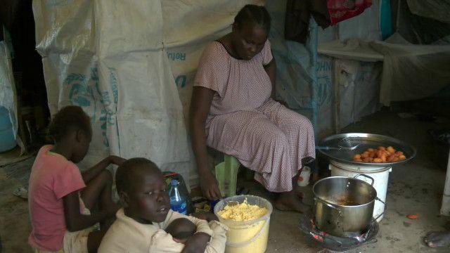 un camp south sudan