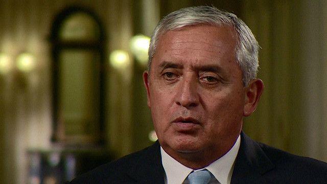 Otto Pérez Molina, presidente de Guatemala