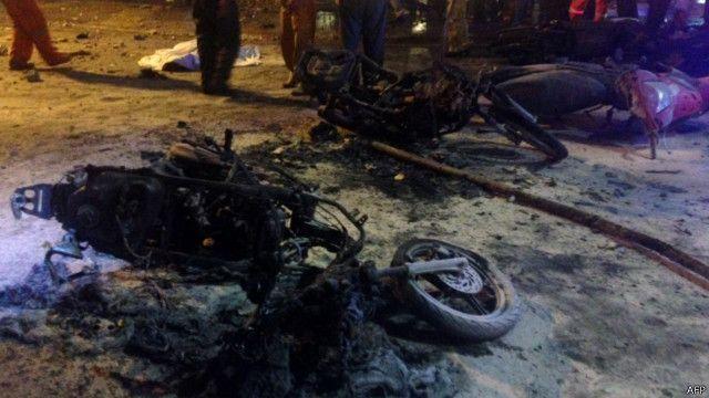 Ledakan Terjadi Di Kuil Erawan Di Pusat Kota Bangkok