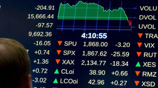 """Биржи США не смогли отыграть падение """"черного понедельника"""""""