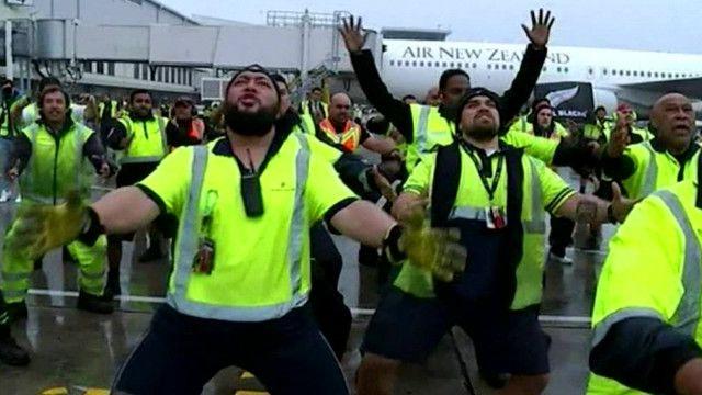 Video Nueva Zelanda News: El Baile Maorí Con Que Nueva Zelanda Recibió A Sus