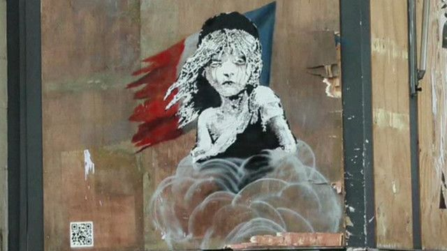 Grafiti de Banksy