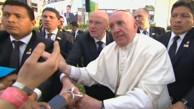 Papa en Morelia