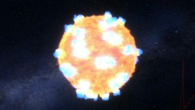 Nasa faz registro inédito de explosão de supernova