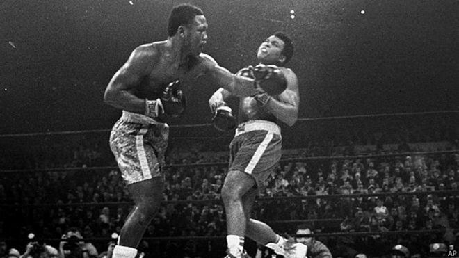 Muhammad Ali và Joe Frazier