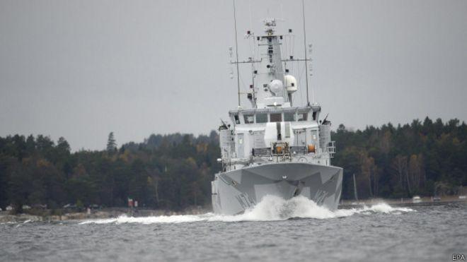 İsveç sularında