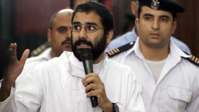 حملة للإفراج عن علاء عبد الفتاح وسجناء