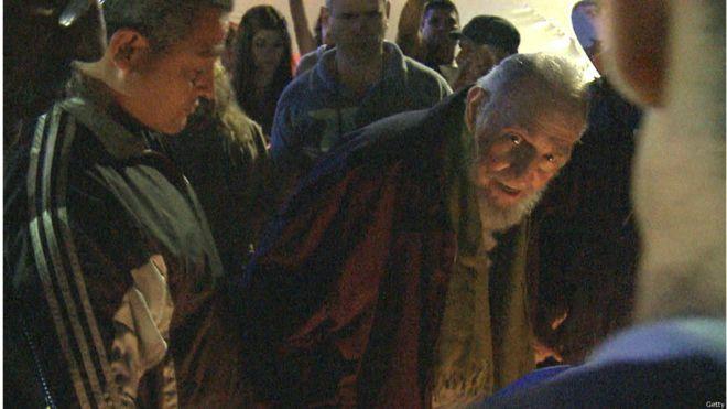 Fidel Castro en la inauguración de un centro cultural, en 2014. Foto: Getty Images