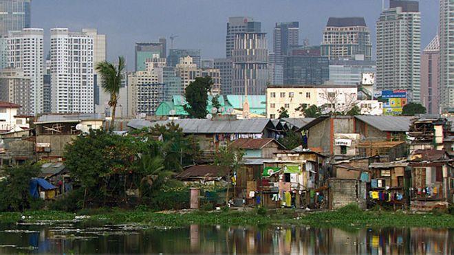 Khu ổ chuột tại thủ đô Manila của Philipppines