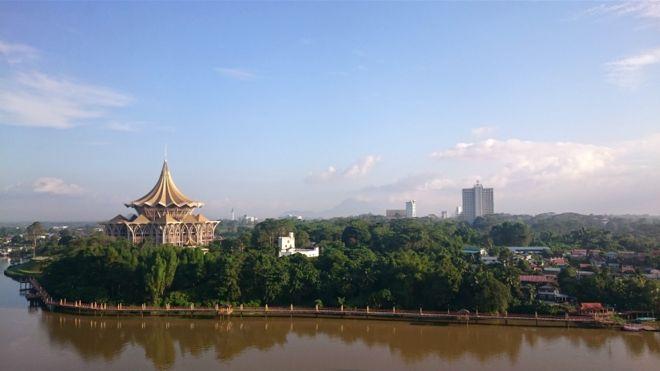 """图辑:大马砂拉越州""""猫城""""古晋的华人足迹"""