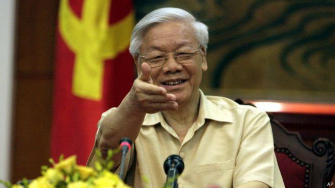 Tổng bí thư Đảng CSVN Nguyễn Phú Trọng