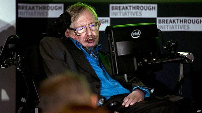 Giáo sư Stephen Hawking