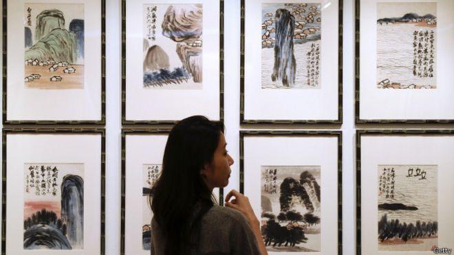 Cuadros de Qi Baishi