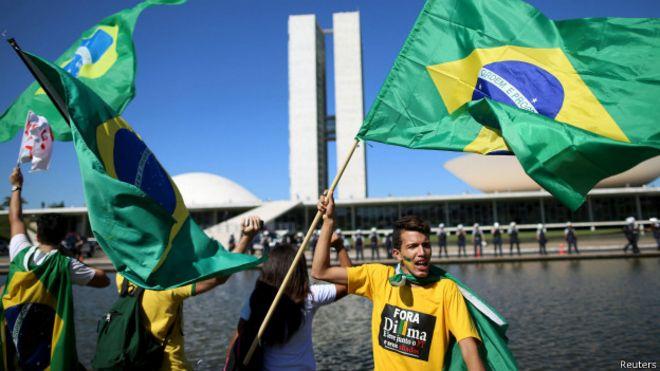 Protesto em Brasília em maio de 2015 | Foto: Reuters