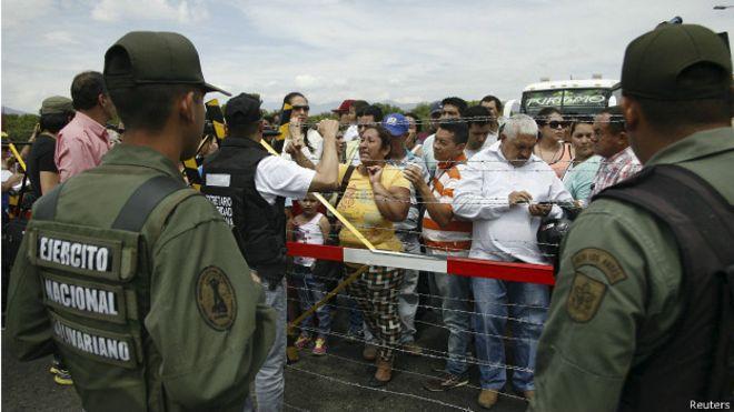 ¿Qué pasa en la frontera entre Venezuela y Colombia?