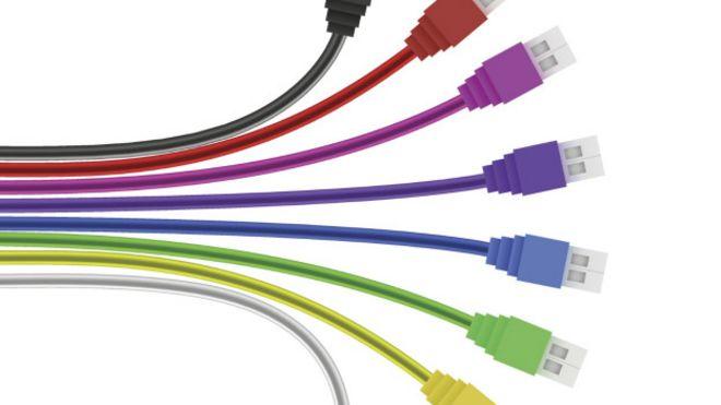 Cables de USB