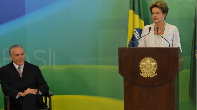 Dilma Rousseff e Michel Temer (Antonio Cruz/Agencia Brasil)