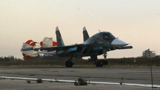 Су-34 в Сирии