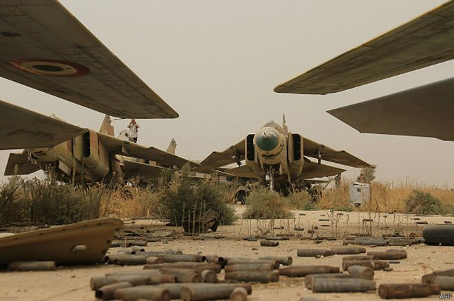 МиГ-23 ВВС Сирии