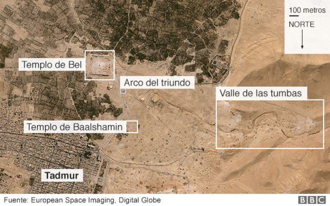 Mapa de Palmira