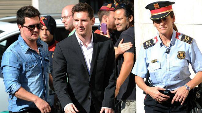 Messi y sus problemas legales con hacienda y panama papers
