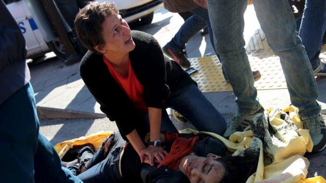 土耳其首都發生兩起爆炸致80多人死傷