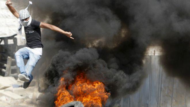 Violencia en territorios palestinos