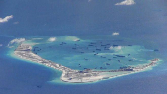 США намерены начать патрулирование китайских островов