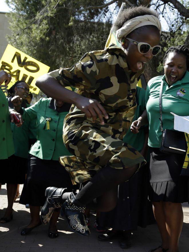 Протест в ЮАР