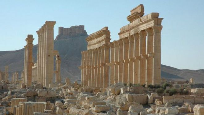 ISIS 'ledakkan tawanan' di Palmyra