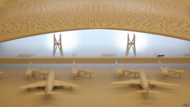 英國建築師事務所奪得台灣機場航站首獎