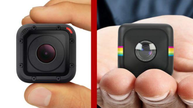 GoPro y Polaroid
