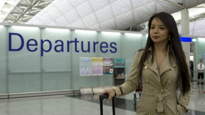 今日香港, 明日台灣!: 加拿大華裔世界小姐候選人香港轉機被拒
