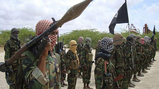 Combatientes de Al Shabaab