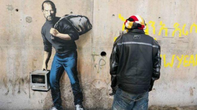 Steve Jobs como migrante