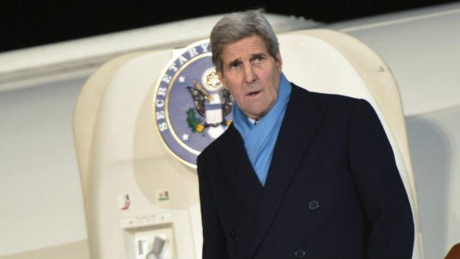 Kerry Rusiya ilə Suriya məsələsində fikir ayrılıqlarını həll etməyə çalışacaq