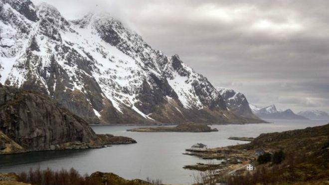 Paisaje en Noruega