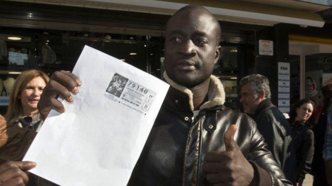 Un migrant sénégalais empoche le gros lot