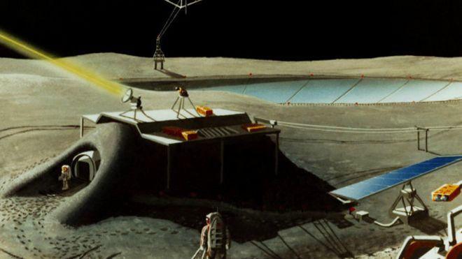 Возможно, так будет выглядеть база на Луне