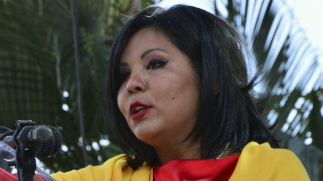 Gisela Mota, alcaldesa de Temixco