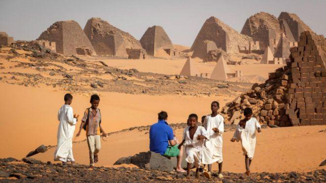 Las pirámides de Sudán