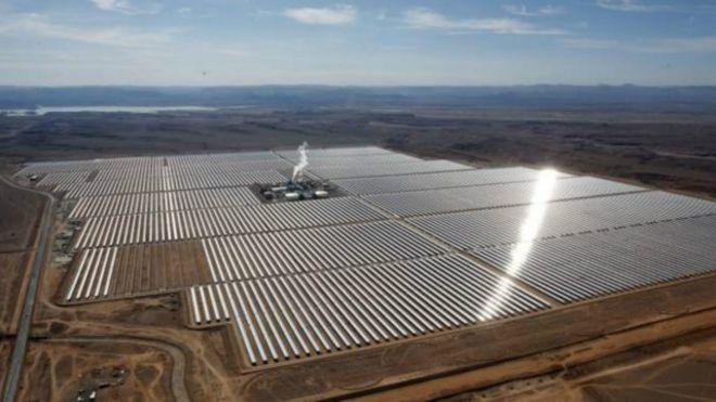 محطة للطاقة الشمسية في المغرب ستكون الأكبر في العالم