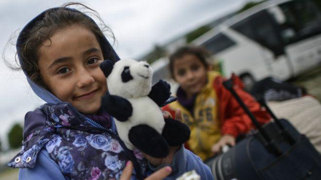 Un niña inmigrante en Múnich