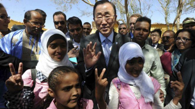 المغرب يرفض اعطاء اذن لطائرة بان كي مون للنزول  160306153735_ban_sahara_640x360__nocredit